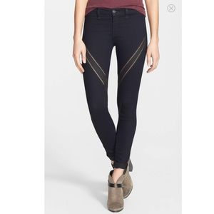 Rag and Bone Ribbon Skinny Jeans Midnight Blue 27